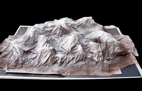 How To Make Paper Mache Mountains - sabrina valdez photography