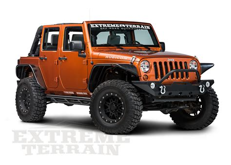 Jeep Armor Redrock 4x4 Side Armor For Jeep Wrangler Jk Tj Yj