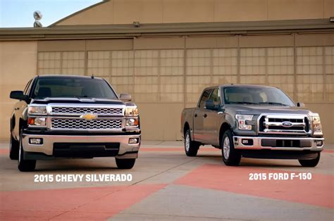 Chevrolet Disses Aluminum Ford F 150 in New Videos Photo