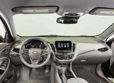 Chevy Malibu 2017 Interior by 2017 Chevrolet Malibu Hybrid Review Consumer Reports