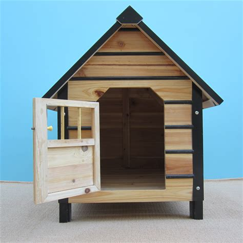 Online Get Cheap Wooden Dog Houses For Large Dogs Aliexpress Com Alibaba Group