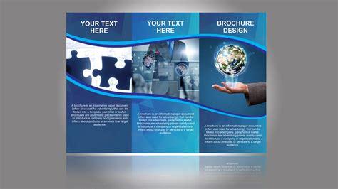 coreldraw brochure designs brochure design in coreldraw tutorial part 1 youtube