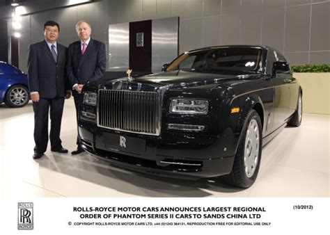 roll royce chinese rolls royce announces largest regional order of phantom