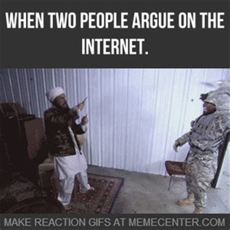Arguing On The Internet Meme - when two people argue on the internet by ozone13 meme center