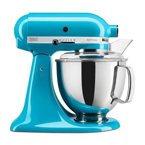 Dijamin Kitchenaid Artisan Series 5 Quart Stand Mixer 5ksm150 kitchenaid ksm150pscl artisan series 5 quart stand mixer blue