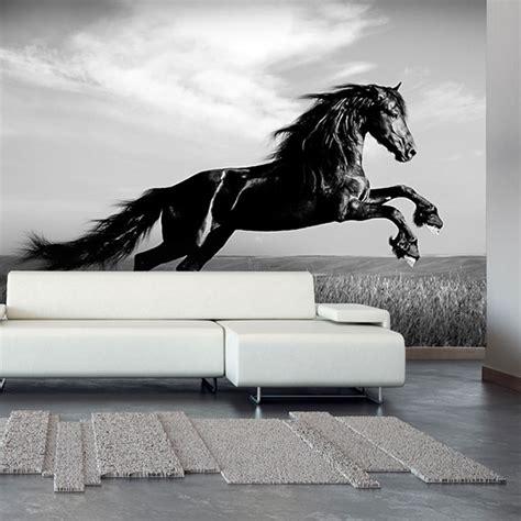 papier peint chevaux pour chambre papier peint et stickers animaux exclusif yeda