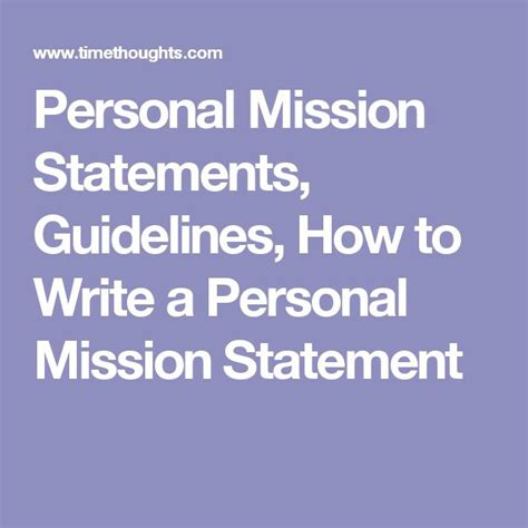 how to start a personal mission statement best 25 business mission statement ideas on