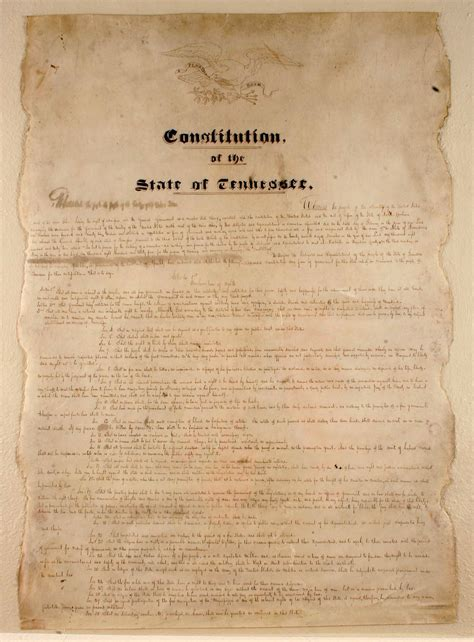 constitution printed for dissemination in new york state with george constitution of tennessee wikiwand