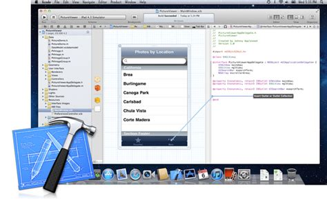 xcode programming tutorial iphone apple xcode available for free on mac app store