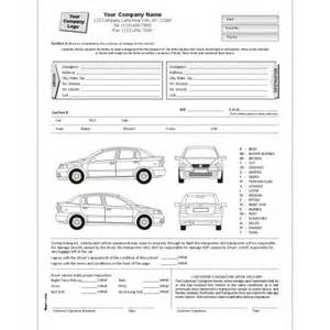 vehicle damage report form template 5 vehicle condition reports word excel templates