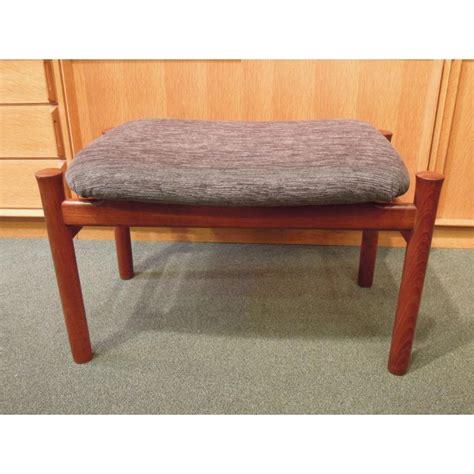 teak ottoman teak ottoman or stool by s 248 ren hansen for fritz hansen 60s