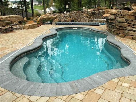 small inground pool ideas outdoor small inground swimming pools with unique shape small inground swimming pools inground