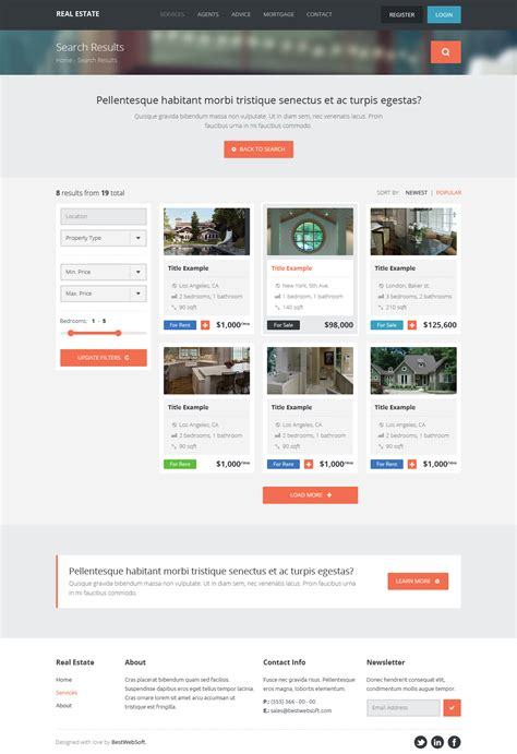 theme wordpress free creative real estate creative wordpress theme bestwebsoft