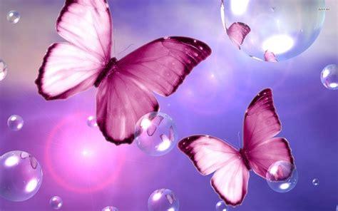 pink wallpaper with butterflies pink butterflies 861570 walldevil
