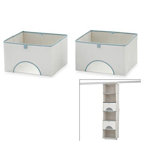bed bath and beyond storage bins real simple 174 storage bins set of 2 bed bath beyond