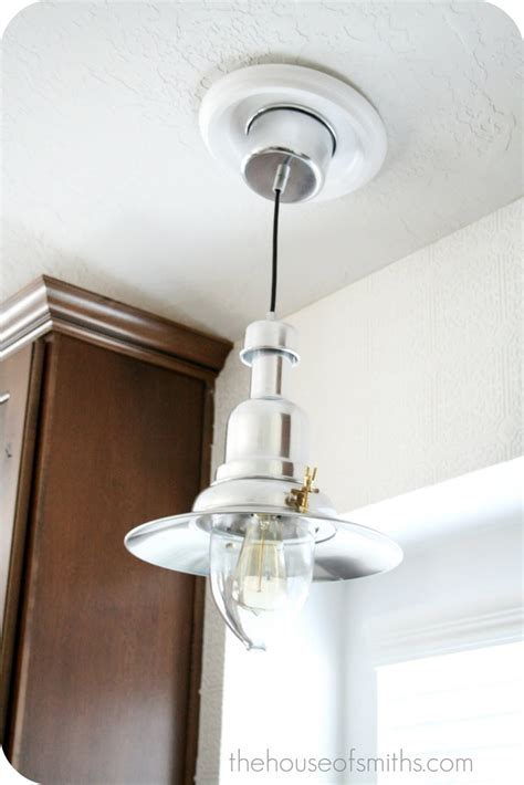 Recessed Lighting To Pendant Adapter Pin By Tami Haggerty On Kitchen