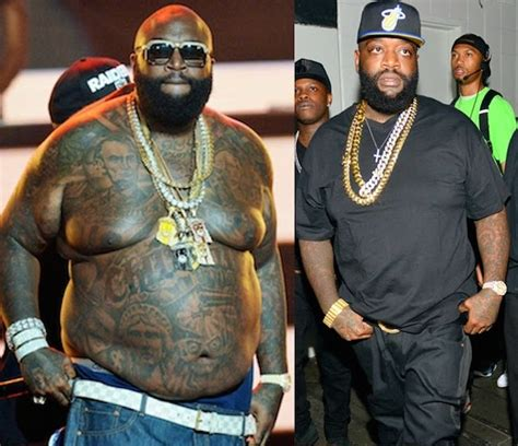 rick ross shows off dramatic weight loss rap up rick ross massive weight loss drops 100 pounds of fat photo