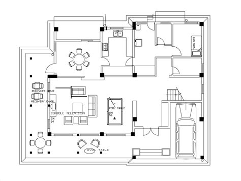 house plans story low cost house plans dwg net cad blocks