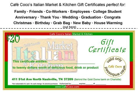 coco lemon berry cake italian restaurant nashville gift card 20 from coco s italian