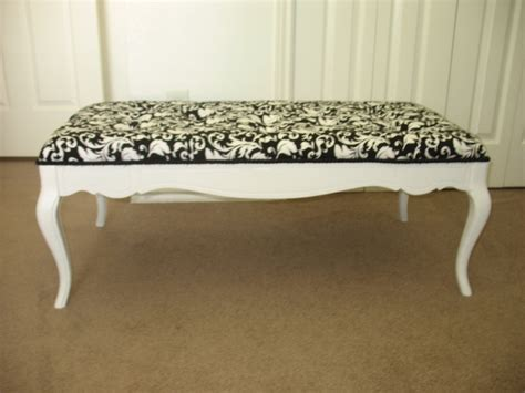 repurposed coffee table shabby chic black and white 145