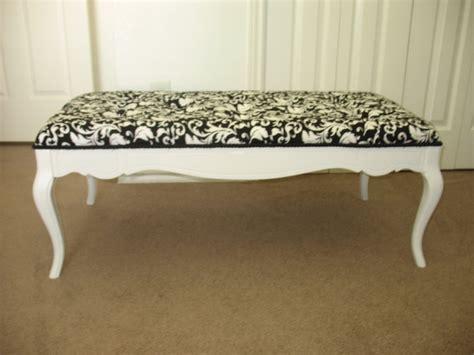 repurposed coffee table shabby chic black and white 145 00 via etsy