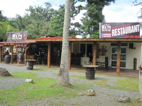 Rum House by Outdoor Dining At The Foot Of The El Yunque Rainforest Picture Of The Rum House Grande