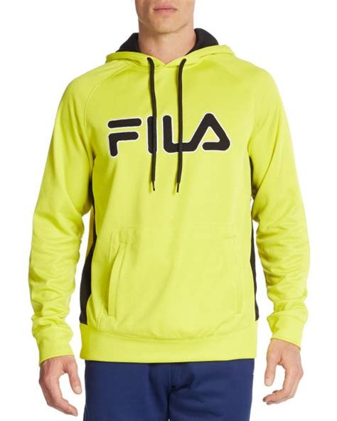 Sweater Hoodie The Last Of Us Front Logo fila checker logo hoodie in yellow for lyst