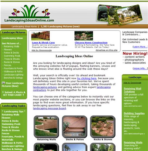 unique new landscaping website provides inspiration for homeowners and landscapers