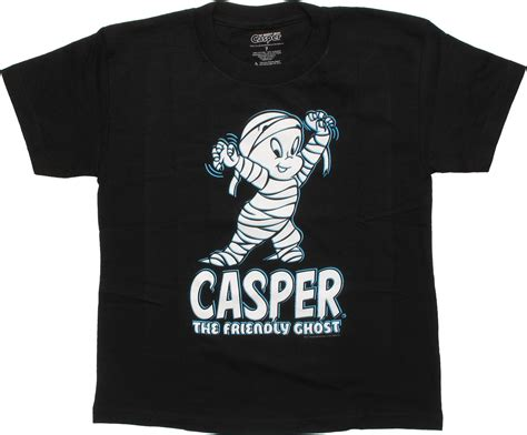 Tshirt Casper by Casper The Friendly Ghost Mummied Juvenile T Shirt