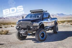 Dodge Offroad Truck Go Big With The Fade To Black Ram 3500 By Road Outlaws