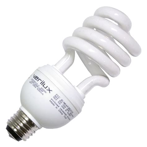 verilux light bulbs lowes verilux 05114 cfs3wvlx compact fluorescent daylight full