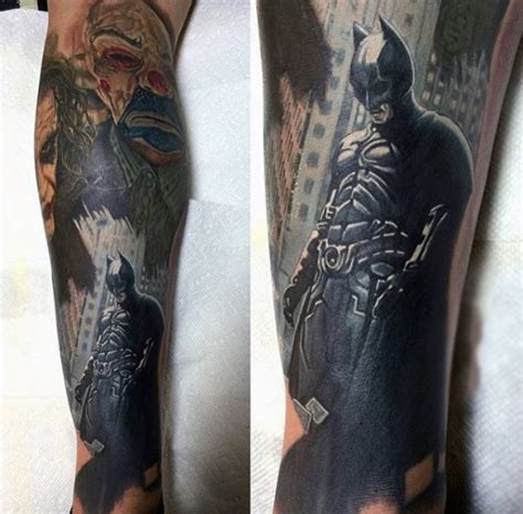 batman tattoo sleeve 100 batman tattoos for ink designs