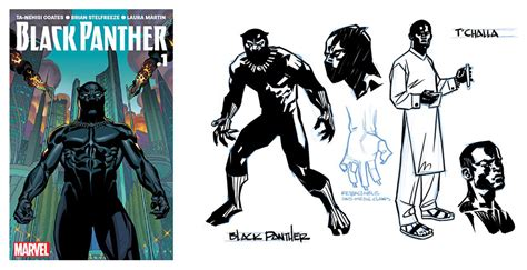 Töff Comic by Recommended Reading The Black Panther Returns