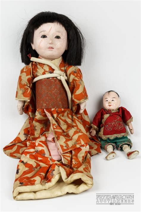 japanese composition doll a vintage japanese composition doll glass dressed in