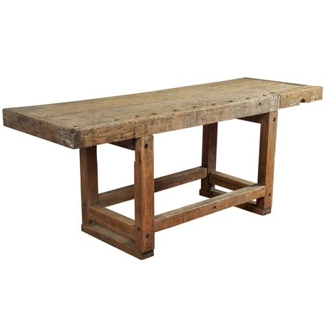 industrial kitchen table furniture industrial workbench kitchen island table at 1stdibs