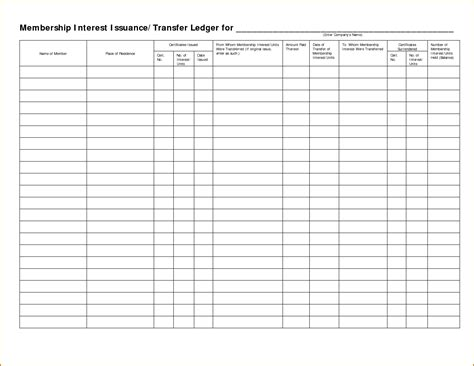 stock ledger template stock ledger template letter world
