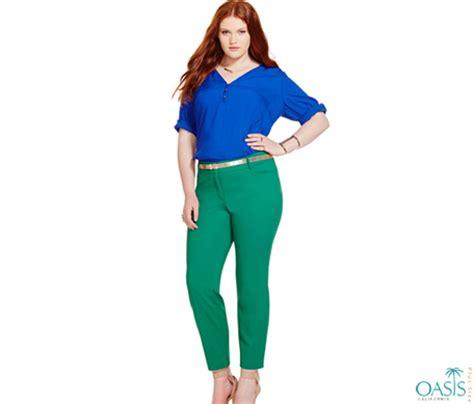 plus size green pants pant olo