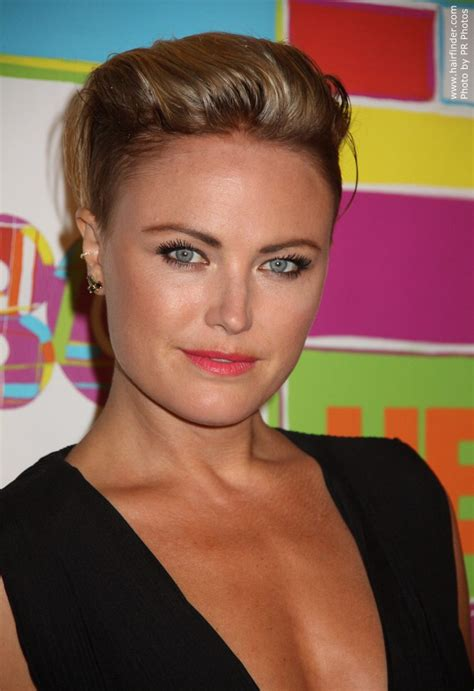 good haircuts kerman hours malin akerman s short pixie cut wit the sides of her hair