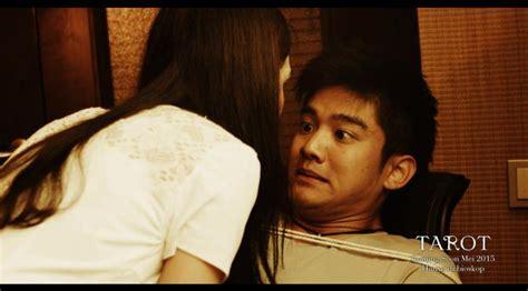 film mika tambayong dan boy wiliam foto foto adegan dan behind the scene film tarot celeb