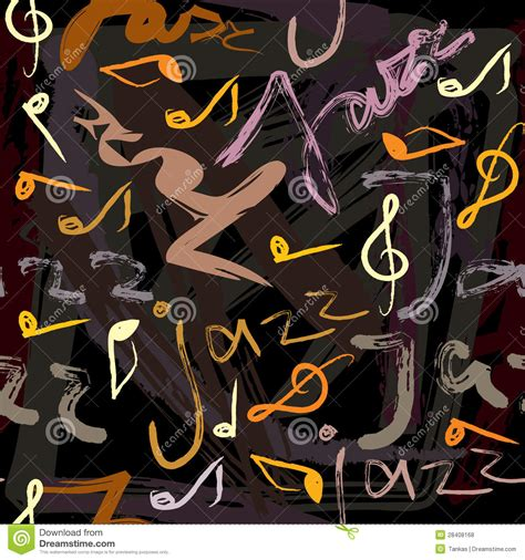 pattern jazz jazz pattern royalty free stock photos image 28408168