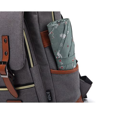 Tas Ransel Laptop Daypack Canvas Fintagio Camo wenjie tas ransel canvas retro light gray jakartanotebook