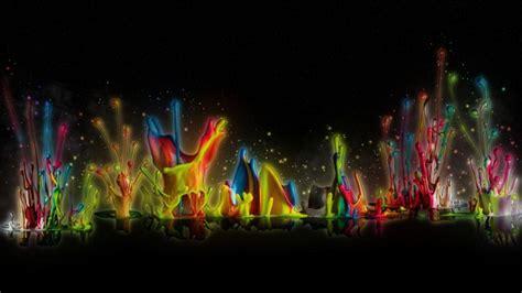 wallpaper corak abstrak 1366x768 color splash wallpapers wallpaper cave