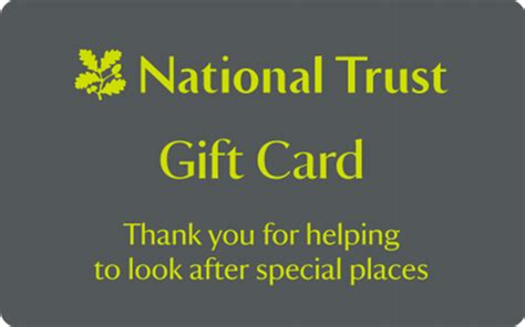 thegiftcardcentre co uk national trust gift card - Nationals Gift Card