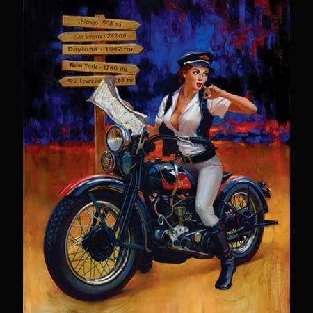 Motorrad Pin Up Tattoo by Biker Pinup Girl Tattoo Ideas Inspiration Pinups