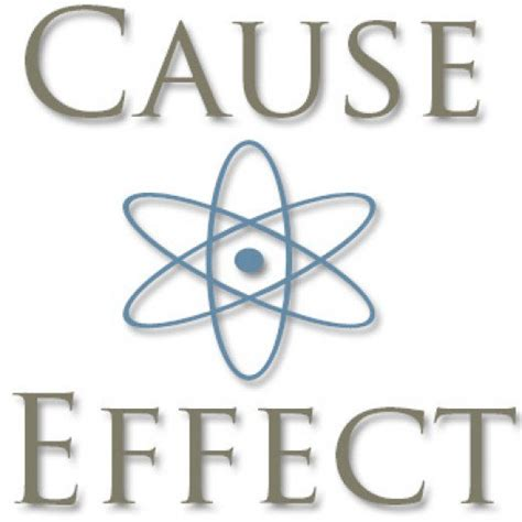 cause and effect cause and effect theory