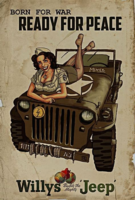 jeep pin up 30 best retro jeep pinup images on