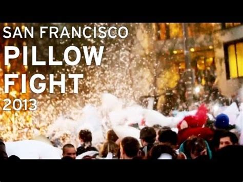 Sf Pillow Fight by San Francisco Pillow Fight 2013