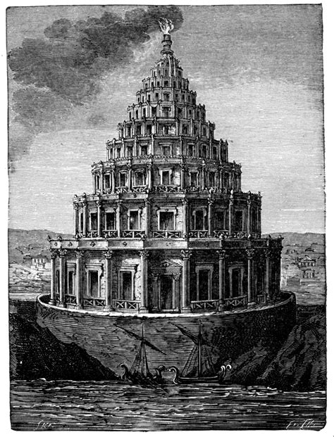 the light house fun facts and images of the lighthouse of alexandria