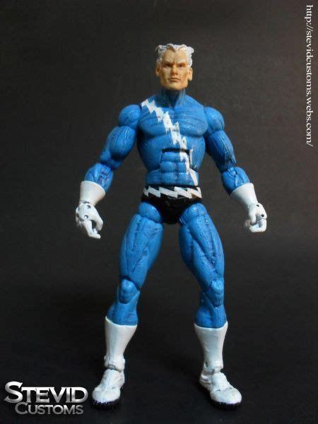 figure quicksilver quicksilver marvel legends custom figure custom