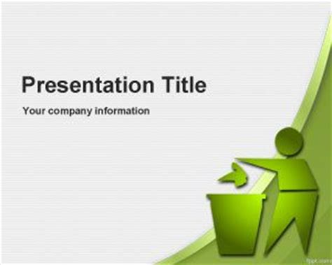 ppt templates free download recycling ecology recycle powerpoint templates
